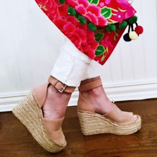 tuesday shoe day with t & J clutch