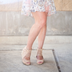 Ruffle Hem and Wedges
